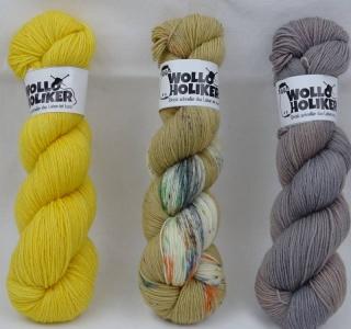 Wolloholiker Basic/Special effect Strickkit *Aurelia 146*, Wolle kaufen Bremerhaven, handgefärbte Wolle