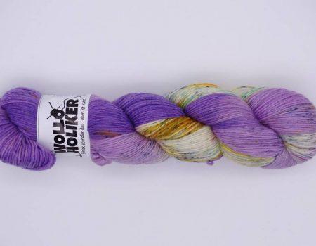 Wolloholiker Special effects *Holunderblüte*, Wolle kaufen Bremerhaven, handgefärbte Wolle