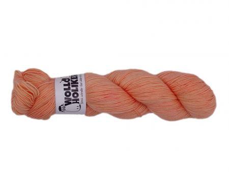 Parlsnoor *Aprikosentarte*. Wolle kaufen Bremerhaven, handgefärbte Wolle