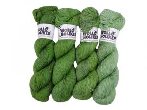 Wolloholiker Wollpaket Parlsnoor *Teeblätter*. Wolle kaufen Bremerhaven, handgefärbte Wolle
