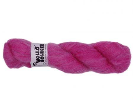 Plüüster *Oh, rosa*. Wolle kaufen Bremerhaven, handgefärbte Wolle