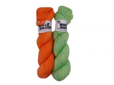 Merino High-Twist Zwillinge *#bleibgesund*. Wolle kaufen Bremerhaven, handgefärbte Wolle