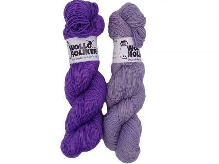 Merino High-Twist Zwillinge *Letzter Versuch*. Wolle kaufen Bremerhaven, handgefärbte Wolle