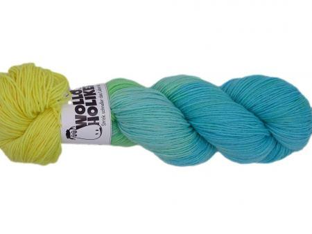 Wilde Matrosen *Windmöhlenfleeger*. Wolle kaufen Bremerhaven, handgefärbte Wolle