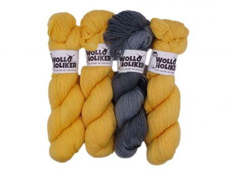 Wollpaket Basic/Special effects *Tante Erna*. Wolle kaufen Bremerhaven, handgefärbte Wolle