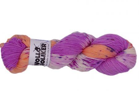 Merino High-Twist *Sommerträume*. Wolle kaufen Bremerhaven, handgefärbte Wolle