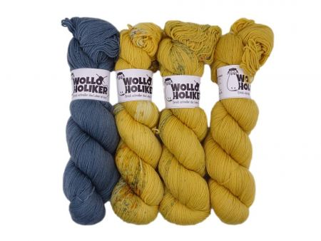 Merino High-Twist Wollpaket *Elegant*. Wolle kaufen Bremerhaven, handgefärbte Wolle