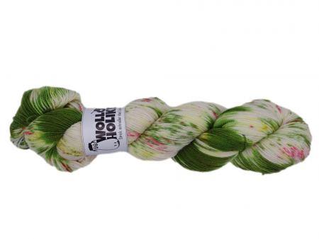 Parlsnoor *Kräuterbeet*. Wolle kaufen Bremerhaven, handgefärbte Wolle