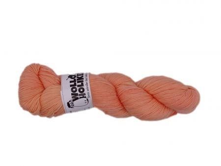 Merino High-Twist *Apricot*. Wolle kaufen Bremerhaven, handgefärbte Wolle