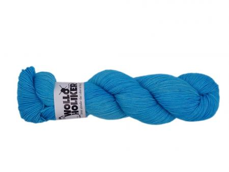 Parlsnoor *Lapislazuli hell*. Wolle kaufen Bremerhaven, handgefärbte Wolle