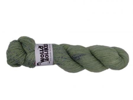 Special effects *Grüne Sommersprossen II*. Wolle kaufen Bremerhaven, handgefärbte Wolle