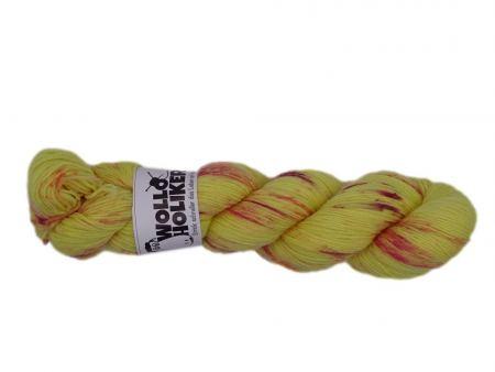 Special effects *Sonnenbraut*. Wolle kaufen Bremerhaven, handgefärbte Wolle