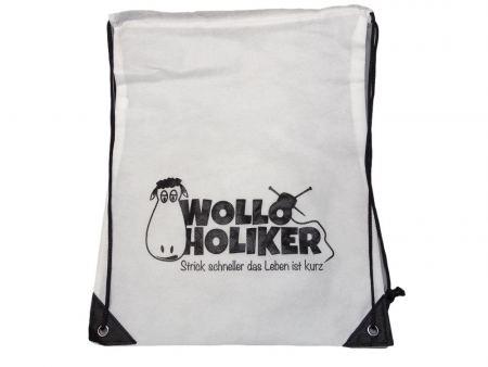 Wolloholiker Projektbeutel. Wolle kaufen Bremerhaven, handgefärbte Wolle