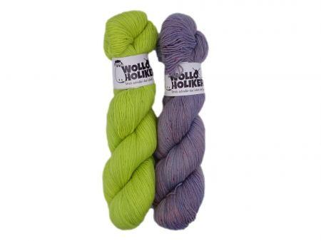 Basic/Special effects Zwillinge *Frühling*. Wolle kaufen Bremerhaven, handgefärbte Wolle