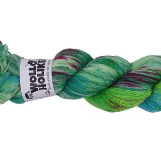 Special effects *Hoffnungsschimmer*. Wolle kaufen Bremerhaven, handgefärbte Wolle