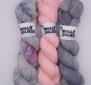 Wollpaket Basic/Special effects *Aurelia 241*. Wolle kaufen Bremerhaven, handgefärbte Wolle