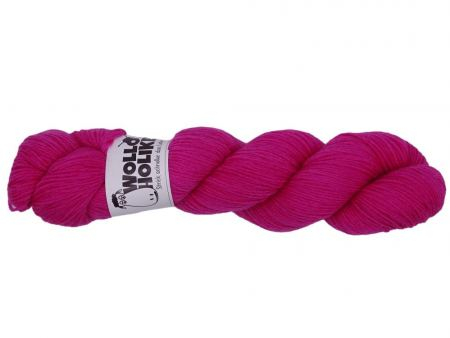 Basic *Rotzgöre*. Wolle kaufen Bremerhaven, handgefärbte Wolle