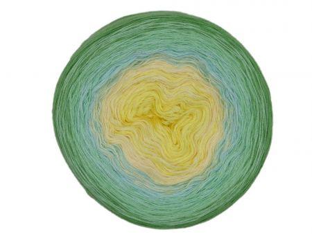 Wolloholiker Bobbel *Bobbel4-3faed-1000*. Wolle kaufen Bremerhaven, handgefärbte Wolle