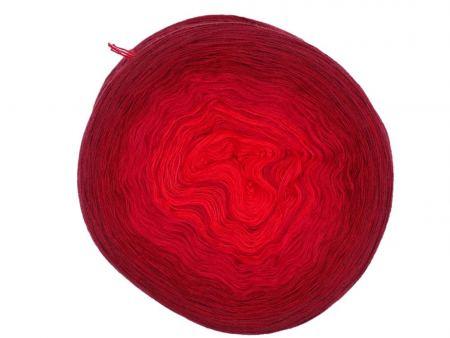 Wolloholiker Bobbel *Bobbel24-4faed-1000*. Wolle kaufen Bremerhaven, handgefärbte Wolle