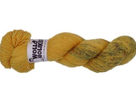Merino High-Twist *Honigtopf*. Wolle kaufen Bremerhaven, handgefärbte Wolle