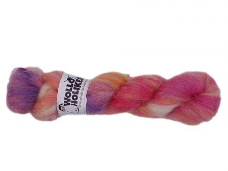 Plüüster *Plüschappel*. Wolle kaufen Bremerhaven, handgefärbte Wolle