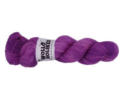 Seidenlace *Beere*. Wolle kaufen Bremerhaven, handgefärbte Wolle