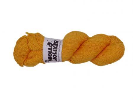 Seidenlace *Butterblume*. Wolle kaufen Bremerhaven, handgefärbte Wolle
