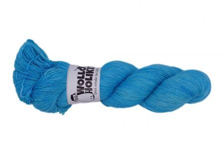Seidenlace *Lapislazuli*. Wolle kaufen Bremerhaven, handgefärbte Wolle