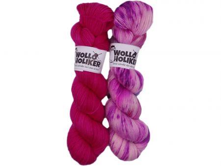 Soft-Zwillinge *Sommerträume*. Wolle kaufen Bremerhaven, handgefärbte Wolle