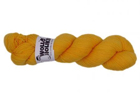 Bangbüx *Butterblume*. Wolle kaufen Bremerhaven, handgefärbte Wolle