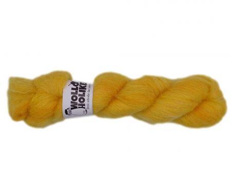 Plüüster *Butterblume*. Wolle kaufen Bremerhaven, handgefärbte Wolle