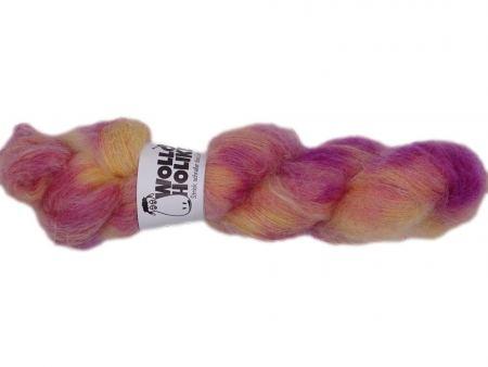 Plüüster *Griespudding*. Wolle kaufen Bremerhaven, handgefärbte Wolle