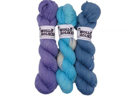 Wollpaket Basic / Special effects *Aurelia 254*. Wolle kaufen Bremerhaven, handgefärbte Wolle