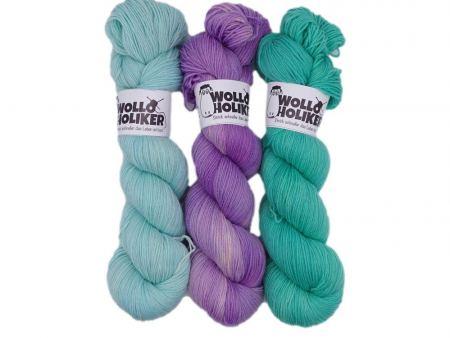 Wollpaket Basic / Special effects *Aurelia 255*. Wolle kaufen Bremerhaven, handgefärbte Wolle