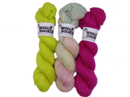 Wollpaket Basic / Special effects *Aurelia 258*. Wolle kaufen Bremerhaven, handgefärbte Wolle