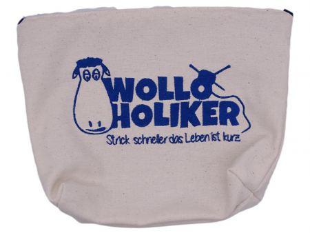Projekttasche *Maritim*. Wolle kaufen Bremerhaven, handgefärbte Wolle