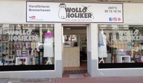 Handgefärbte Wolle von Wolloholiker