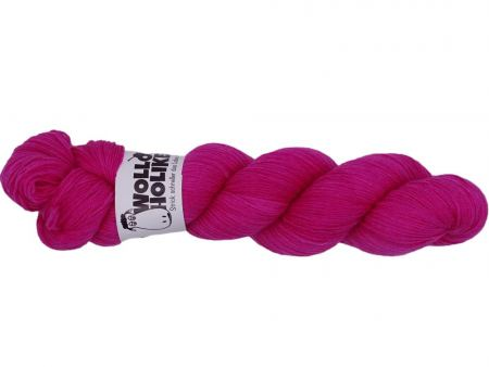 Scheißerchen *Fuchsie*. Wolle kaufen Bremerhaven, handgefärbte Wolle