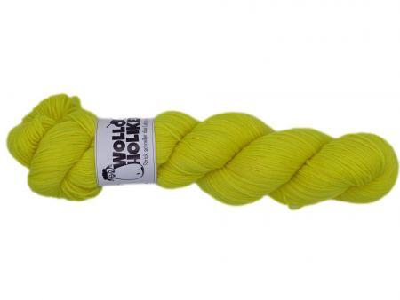 Scheißerchen *Zitronenfalter*. Wolle kaufen Bremerhaven, handgefärbte Wolle