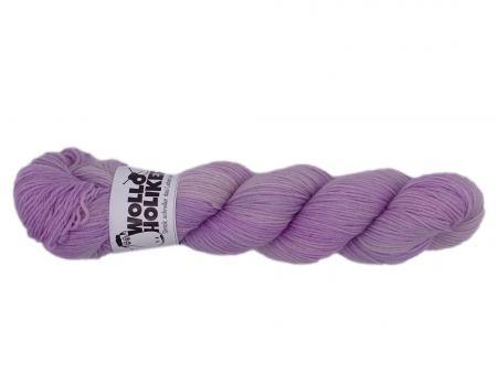 Plüschmors *Altrosa*. Wolle kaufen Bremerhaven, handgefärbte Wolle