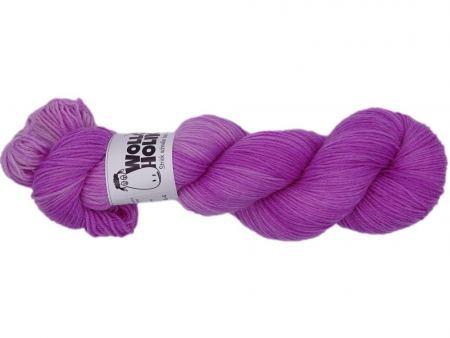 Plüschmors *Himbeersalz*. Wolle kaufen Bremerhaven, handgefärbte Wolle