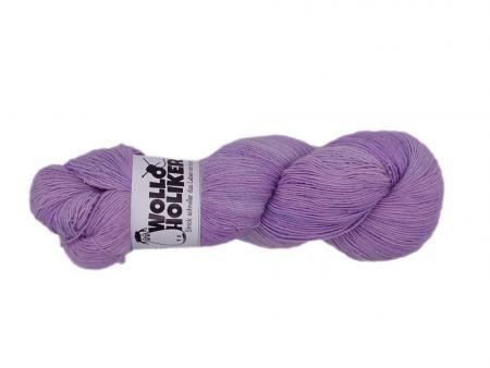 Seidenlace *Flieder*. Wolle kaufen Bremerhaven, handgefärbte Wolle