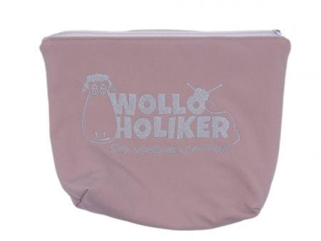 Projekttasche *Altrosa*. Wolle kaufen Bremerhaven, handgefärbte Wolle