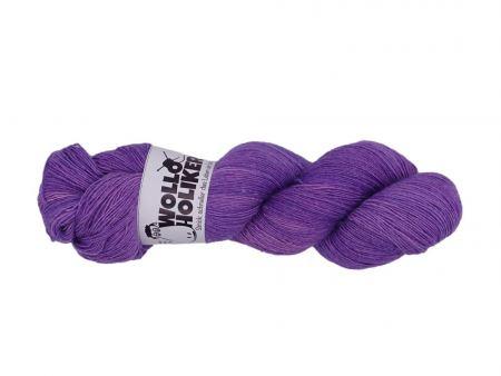 Seidenlace *Lavendel*. Wolle kaufen Bremerhaven, handgefärbte Wolle