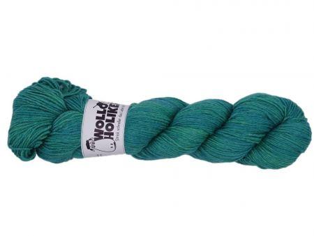 Seidenraupe *Glücksklee*. Wolle kaufen Bremerhaven, handgefärbte Wolle