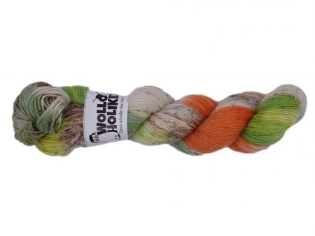 Special effects *Herbstlaub*. Wolle kaufen Bremerhaven, handgefärbte Wolle