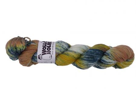 Special effects *Herbstwetter*. Wolle kaufen Bremerhaven, handgefärbte Wolle
