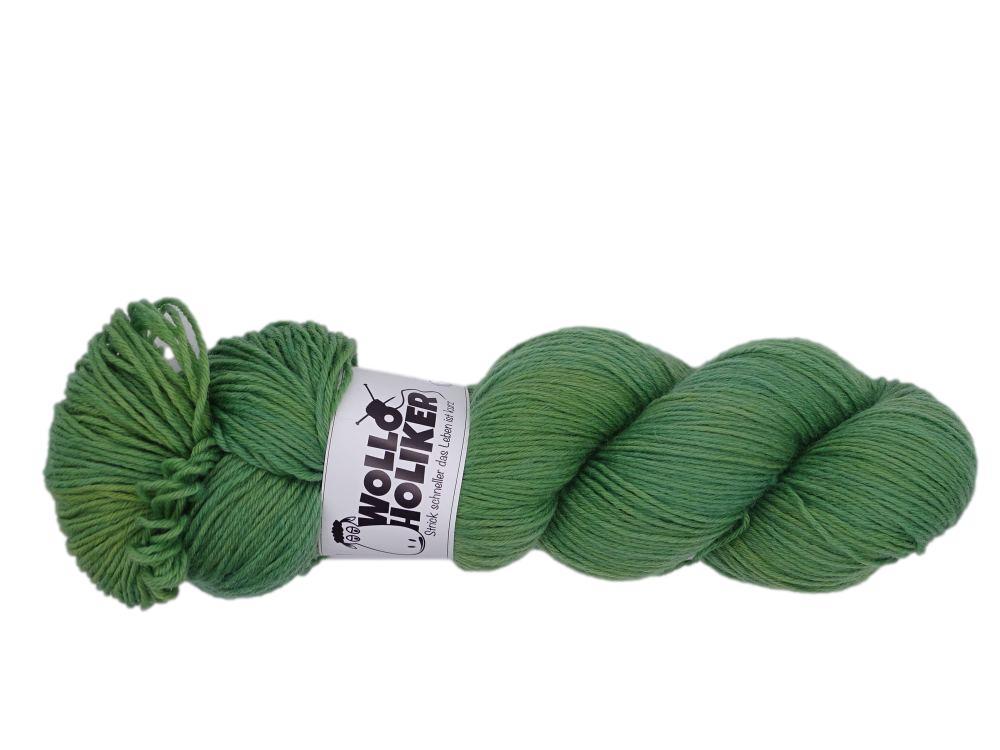 Basic-6fach *Rosmarin*. Wolle kaufen Bremerhaven, handgefärbte Wolle