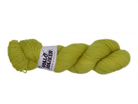 Basic-6fach *Süßer Senf*. Wolle kaufen Bremerhaven, handgefärbte Wolle