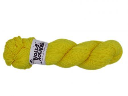 Basic-6fach *Zitronenfalter*. Wolle kaufen Bremerhaven, handgefärbte Wolle